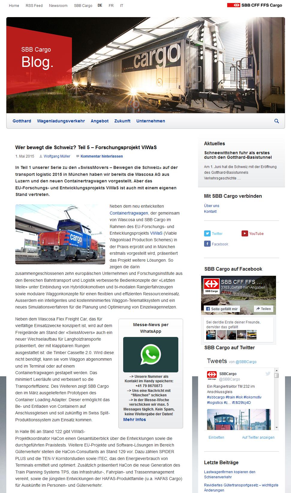 150501_SBB Blog Wer bewegt die Schweiz_Transport Logistic