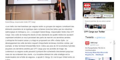 De nouvelles solutions pour le trafic de marchandises par wagons isolés en Europe (French)