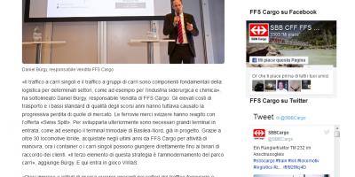 Nuove soluzioni per il traffico merci europeo a carri singoli (Italian)