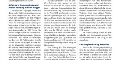 ViWaS-Abschlusskonferenz zeigt Wege zu wirtschaftlicherem Einzelwagen auf (German)