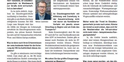 """""""Mengen sichern, Produktionskosten senken"""" (German)"""